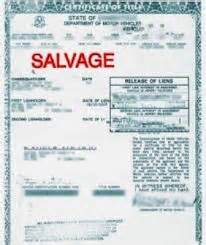 Used Car Values Salvage Title Should I Purchase A Used Car With A Salvaged Or Branded