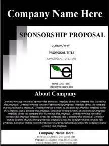 template for sponsorship sponsorship template best word templates