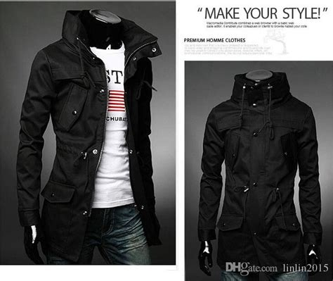 Winter Coat Korea High Quality 4 black winter coats mens tradingbasis