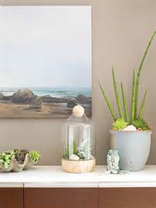 ciao newport beach decorating with succulents