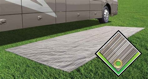 prest o fit breathable aeroweave outdoor patio mat 6x15