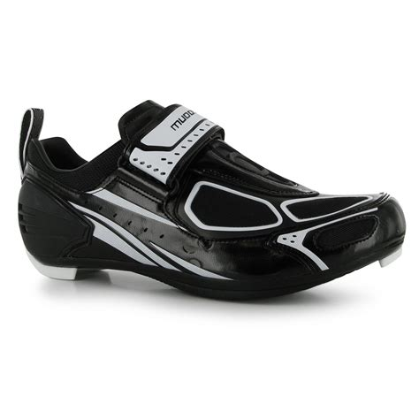 mountain bike shoes spd compatible muddyfox tri100 mens cycling shoes spd cleat compatible