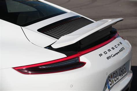 porsche 911 gts spoiler 2017 porsche 911 gts faster than 991 1 gt3 at nurburgring