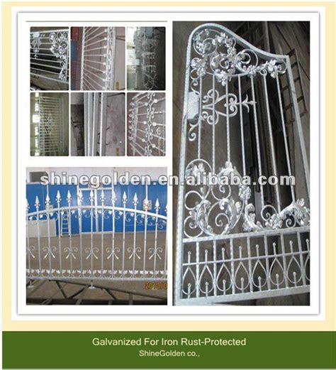 2012 wrought iron fence gate grill design china mainland fencing trellis gates