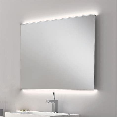 mobile specchio bagno con luce specchio bagno con luce led design moderno con bordi