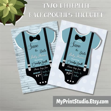 save the date templates for baby shower save the date baby boy shower card template creative boy
