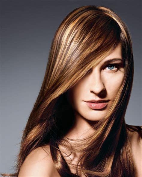 haare braun mit blonden straehnen