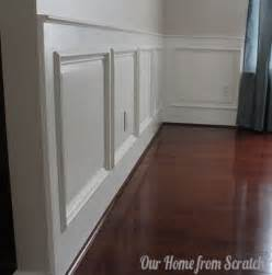 easy wainscoting ideas remodelaholic diy wainscoting tutorial