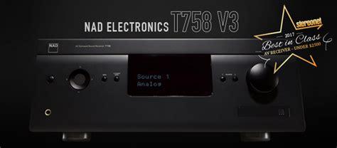 nad electronics    av receiver review stereonet