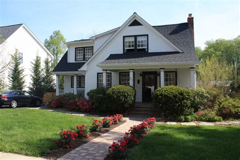 cape cod house renovation renovated cape cod traditional exterior dc metro