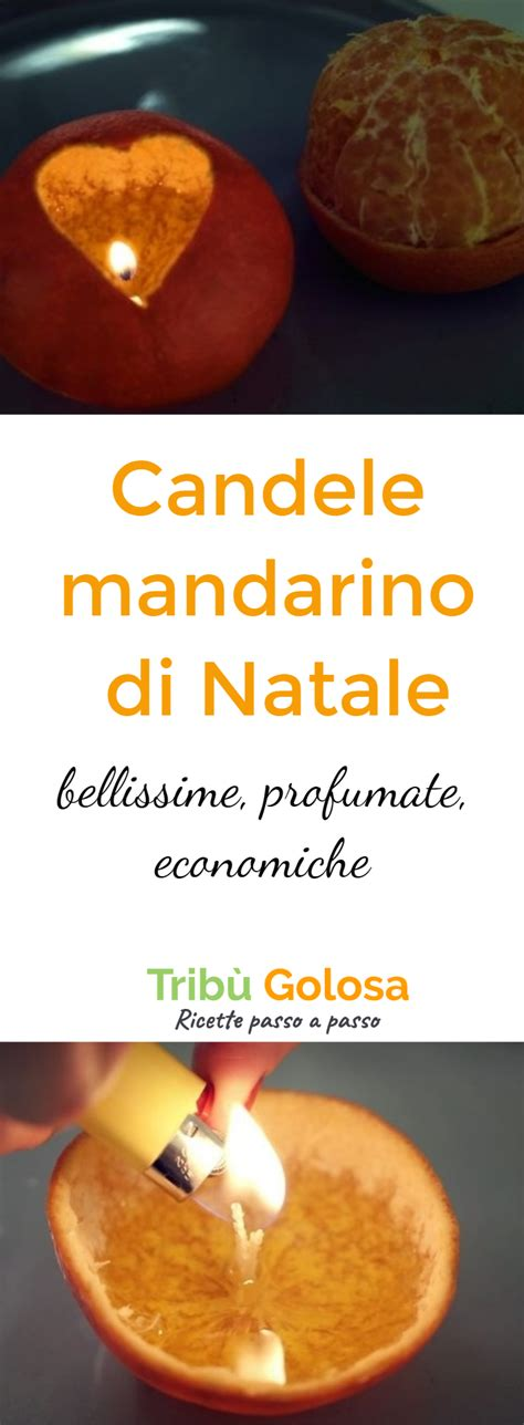 candele economiche candele mandarino di natale bellissime profumate