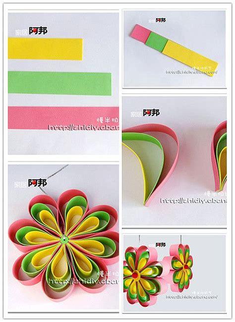 Papercraft Tips - simple paper flower craft ideas