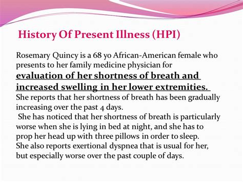 History Of Present Illness Template 28 Images History Of Present Illness Template 28 Images History Of Present Illness Template