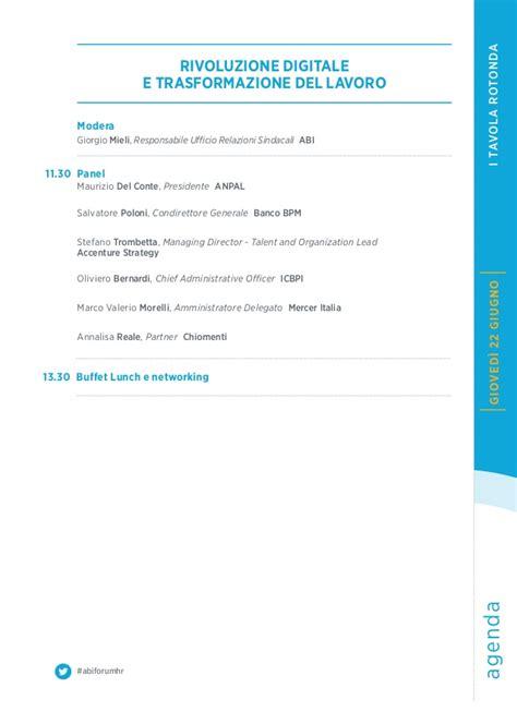 ufficio risorse umane unicredit forum hr 2017 banche e risorse umane il programma