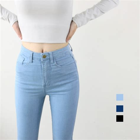 what are the best jeans for women in their forties aliexpress com buy high waist high elastic jeans women