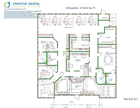 designer floor plans creative dental floor plans orthodontist floor plans