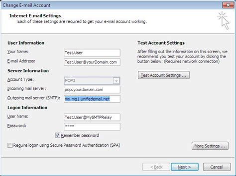 email microsoft account how to change the name that appears in outlook 2010