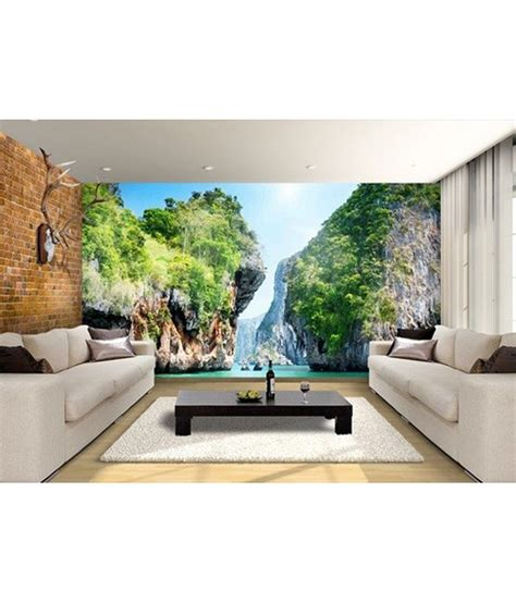 wallpaper for walls prices in india buy arihant design nature wall wallpaper online at low