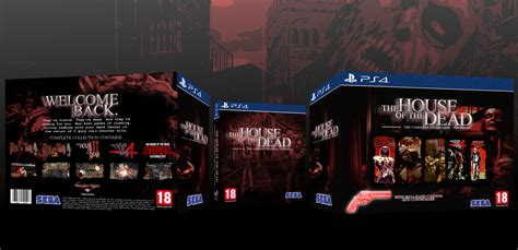 house of the dead 4 the house of the dead complete collection playstation 4 box art cover by danny 21