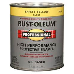 shop rust oleum quart size container exterior gloss safety