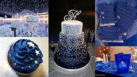 starry night wedding party ideas paris themed party