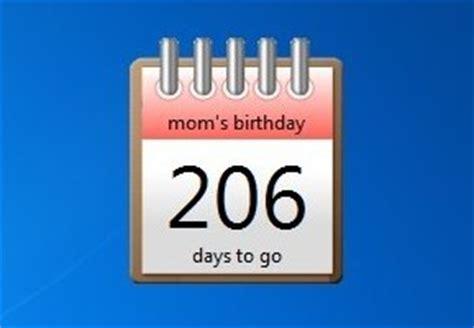 Desktop Countdown Calendar Calendar Countdown For Desktop Calendar Template 2016