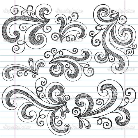 background design doodle simple doodle ideas sketchy doodle swirls vector design