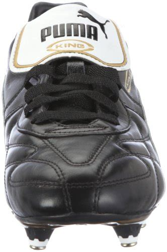 king pro sg mens football boots king pro sg s soccer boots black white gold