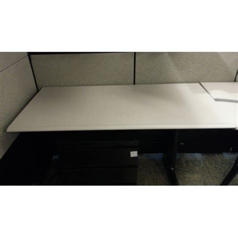 Herman Miller Corner Desk Herman Miller Height Adjustable Sit Stand Corner Desk Allsold Ca Buy Sell Used Office