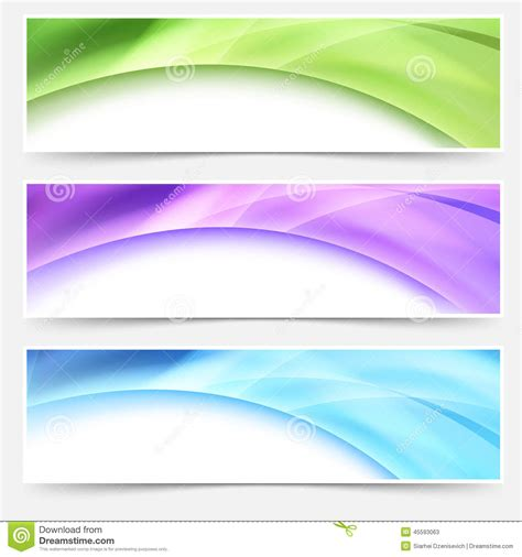 sign up page design brightlocal modern web bright glowing header footer set stock vector