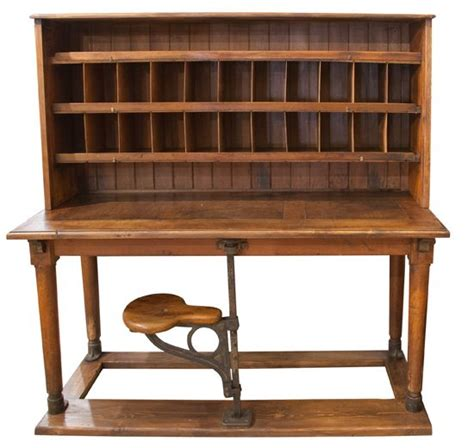 Antique Post Office Desk Post Office And Posts On