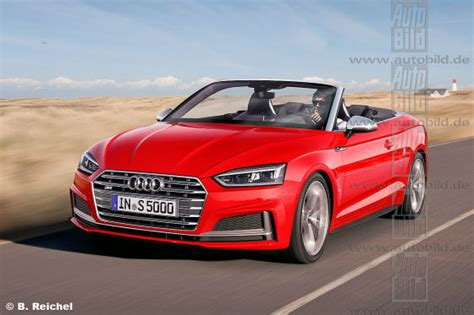Audi A5 Cabrio Neues Modell 2015 by Audi A5 S5 Cabrio 2017 Vorschau Autobild De