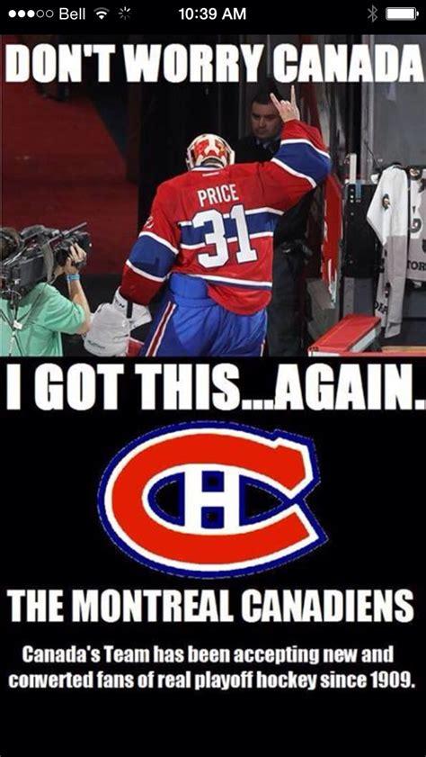Canada Hockey Meme - 2014 nhl playoffs canadiens you did so well congrats