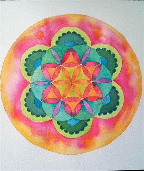 watercolor mandala tutorial 24 best images about mandalas on pinterest watercolors