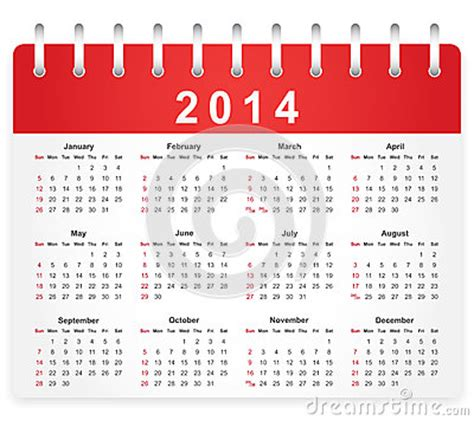sunday calendar schedule blank page royalty free stock stylish calendar page for 2014 royalty free stock image