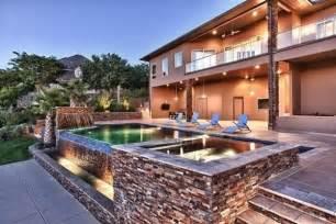 Backyard Party Decorating Ideas Above Ground Pool Decks 40 Modern Garden Swimming Pool