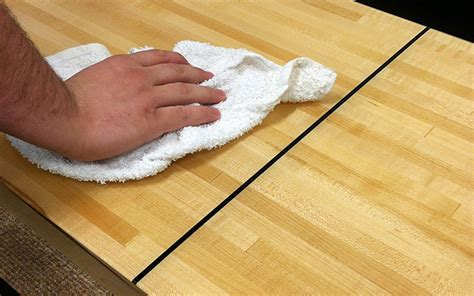 how to wax a shuffleboard tablemcclure tables