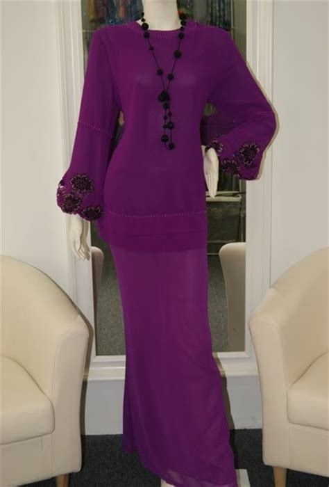 Baju Kurung Moden Chiffon Lining butik marina baju kurung moden pendek rm169 only material chiffon with lining
