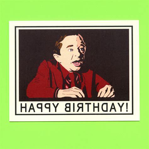 Twin Peaks Gift Card - twin peaks birthday card twin peaks funny by seasandpeas on etsy