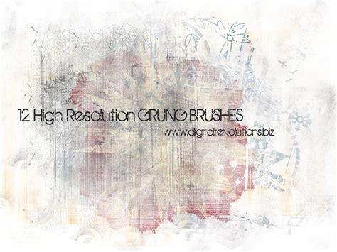 brushes photoshop free grunge photoshop brushes digital revolutions
