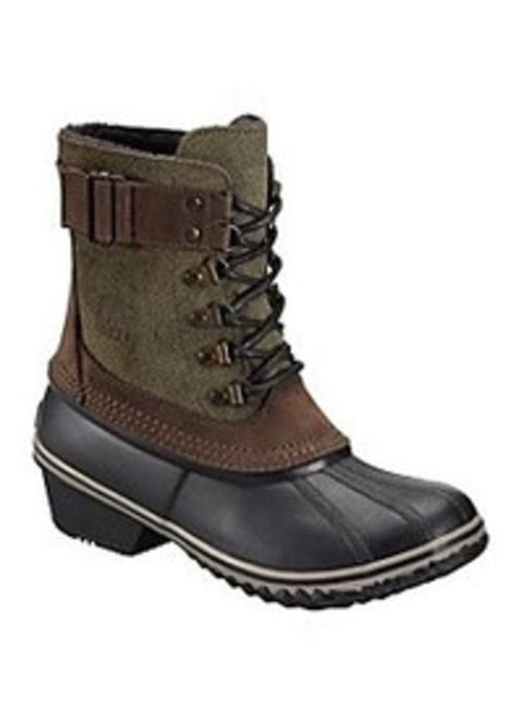 cold weather sneakers sorel sorel 174 quot winter quot fancy lace up cold weather boots