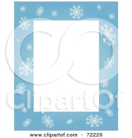 blank snowflake template snowflakes picture border free new calendar template site