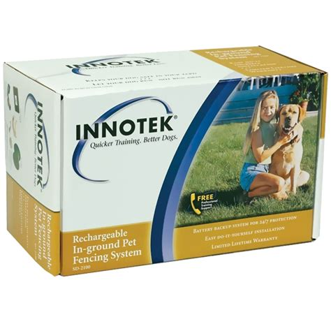 innotek fence innotek rechargeable in ground pet fencing sd 2100