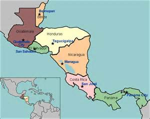 labeled map of central and south america test your geography knowledge central america capital