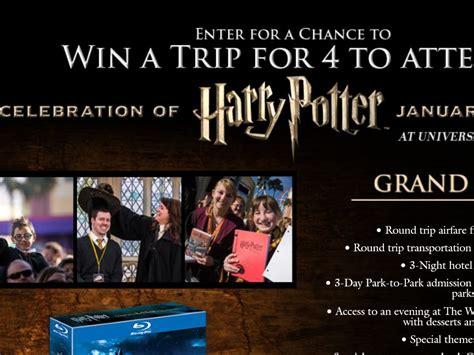 Harry Potter Sweepstakes - warner bros wizarding world of harry potter sweepstakes sweepstakes fanatics