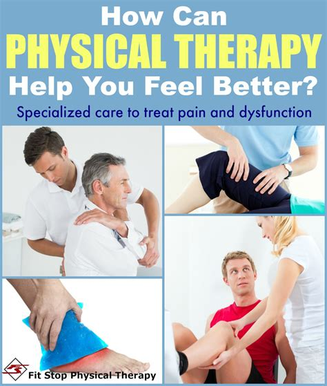 your to be a therapy what treatments do pt s provide fit stop physical therapy