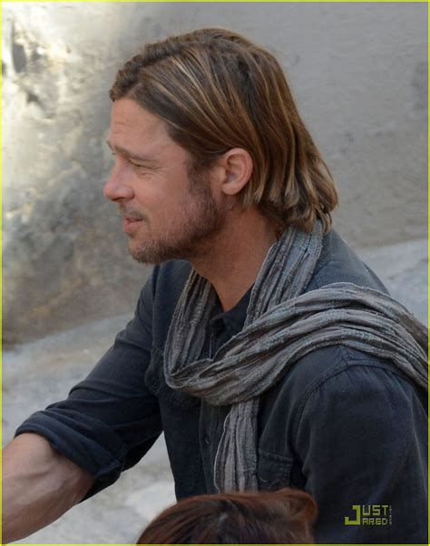 brad pitt world war z hair length pictures of world war z brad pitt google search