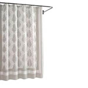 shower curtains home depot home decorators collection roma taupe 72 in w shower