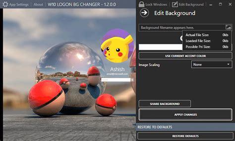 wallpaper changer software for windows 10 software win 10 bg changer 1 2 0 0 black software
