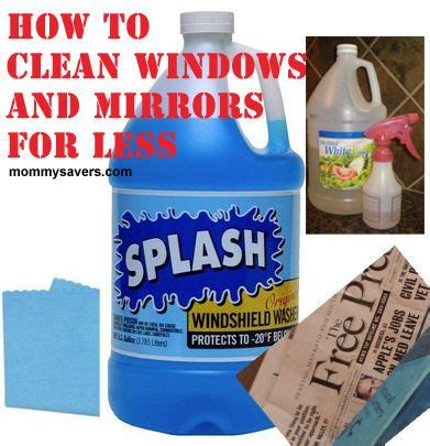 how to clean mirrors in bathroom 14 best mirror care images on pinterest cleaning recipes